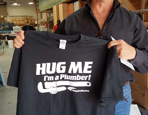 Custom Contractor T Shirts