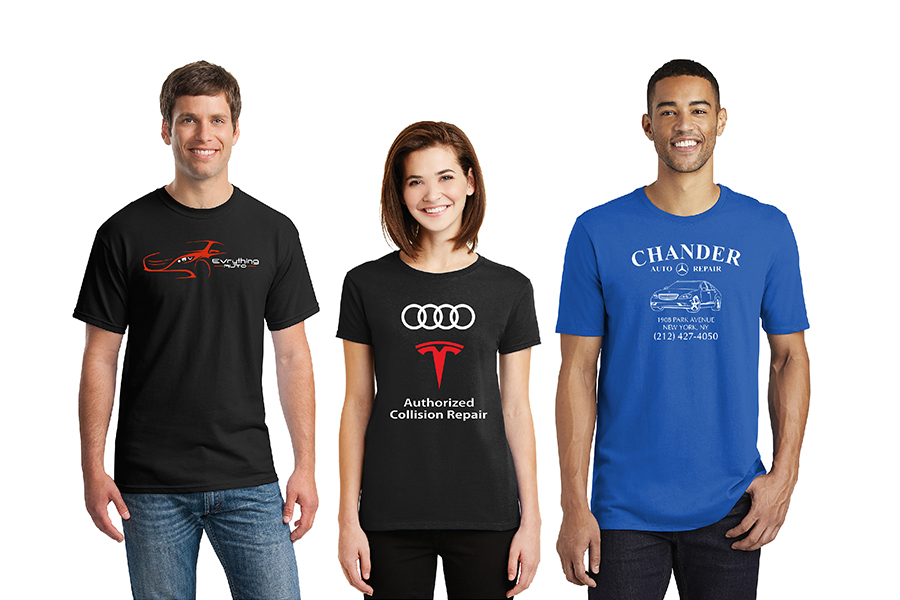 Auto Collision T-Shirts
