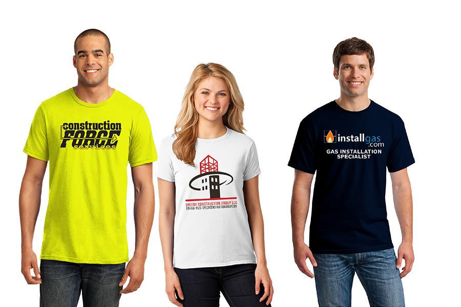 custom construction t-shirts
