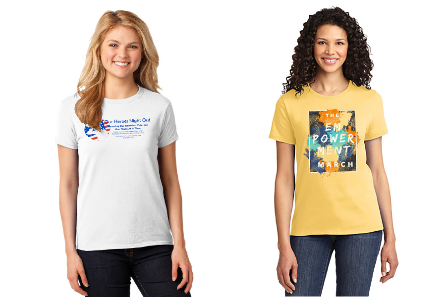Custom T-shirts for Non Profits and Charity Organizations