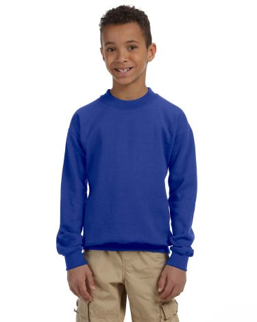 Gildan 180B Youth Crew Sweatshirt