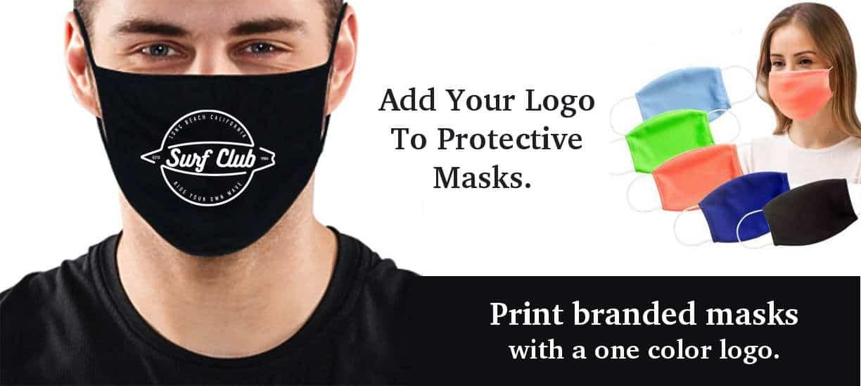 Custom Printed Protective Masks