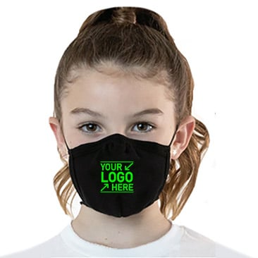 Cotton 2 Layer Youth Mask